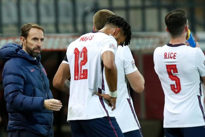 Southgate đau đầu vì tuyển Anh có quá nhiều tài năng. Ảnh: AP