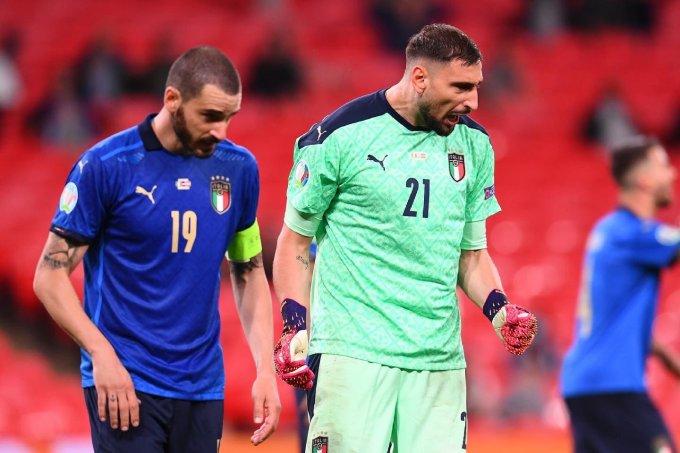 Italy thủng lưới trước Áo nhưng vẫn kịp lập kỷ lục thế giới. Ảnh: Azzurri