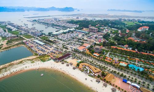 Đảo Tuần Châu - địa điểm dự kiến tổ chức Kun Marathon Hạ Long 2021.