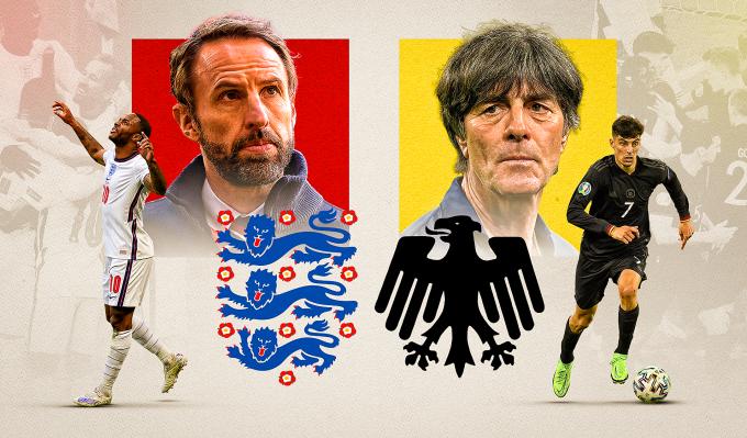 Tuyển Anh được Lahm đánh giá cao hơn Đức trước lần chạm trán tại Wembley hôm nay. Ảnh: Sky Sports