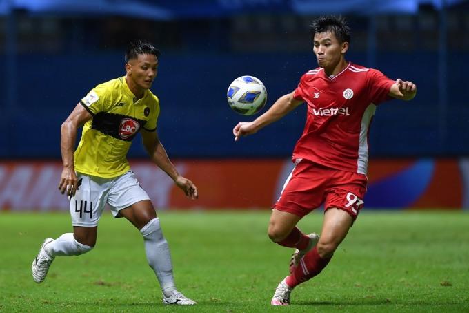 Viettel hoàn toàn áp đảo Kaya FC và giành chiến thắng xứng đáng. Ảnh: Thu Hà.