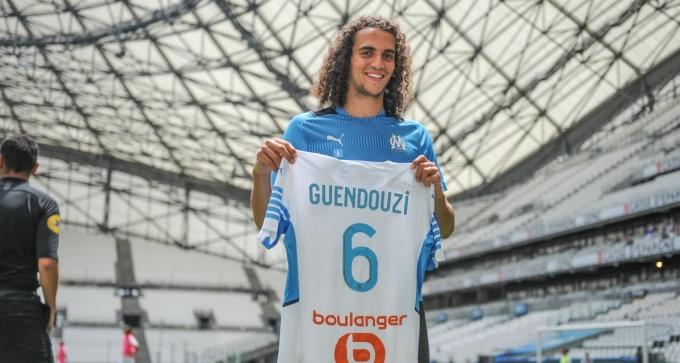 Bản hợp đồng với Marseille đặt dấu chấm hết cho cuộc phiêu lưu của Guendouzi với Arsenal. Ảnh: OM