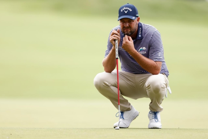 Leishman thừa nhận đã nóng nảy vì gạt kém ở vòng hai. Ảnh: Golf Digest