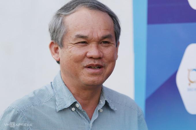 Bầu Đức muốn Liên đoàn Bóng đá Việt Nam phán quyết số phận V-League 2021 một cách hợp lý nhất. Ảnh: Đức Đồng.