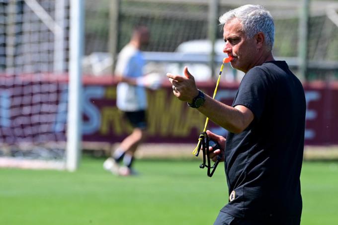 Mourinho đang thổi luồng gió mới vào Roma, với những thay đổi cụ thể trên sân tập. Ảnh: AS Roma
