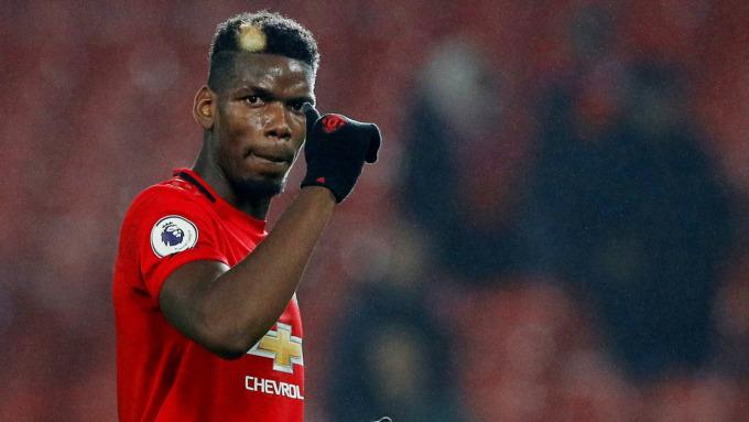 Pogba đá 199 trận, ghi 38 bàn cho Man Utd trên mọi giải đấu trong năm mùa vừa qua. Ảnh: Reuters