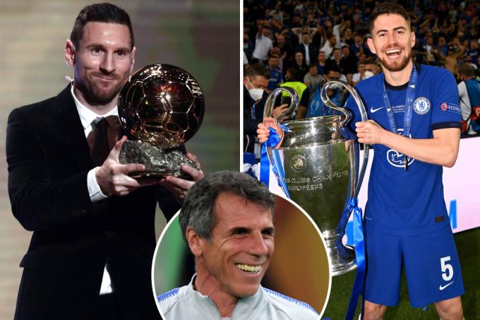 Zola - cựu tiền đạo Chelsea và Italy - cho rằng hậu bối Jorginho xứng đáng đoạt Quả Bóng Vàng hơn Messi. Ảnh: qlur