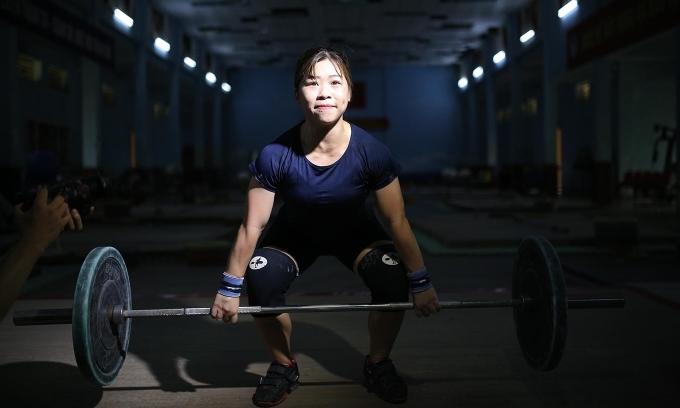 Nếu hồi phục hoàn toàn chấn thương, Hoàng Thị Duyên có cơ hội tranh huy chương cử tạ 59kg nữ.