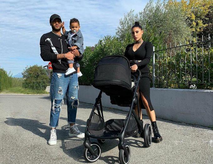 Jakobs và Daza đã có với nhau hai mặt con. Ảnh: Instagram / Nicole Daza
