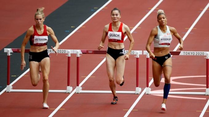 Quách Thị Lan không chỉ là niềm tự hào Việt Nam, mà của cả châu Á, ở môn quan trọng nhất Olympic như điền kinh. Ảnh: Reuters
