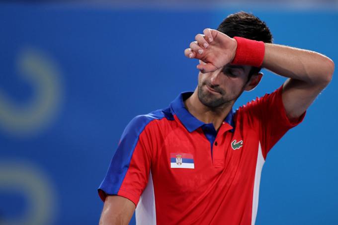Djokovic ba lần thua bán kết đơn nam Olympic sau bốn lần tham dự. Ảnh: ITF