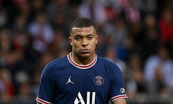 Mbappe đá 175 trận, ghi 135 bàn cho PSG trong bốn năm qua. Ảnh: AFP