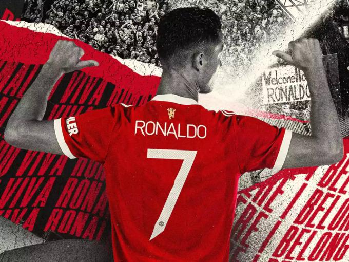 Trở lại Man Utd có thể là thách thức lớn cuối cùng trong sự nghiệp lừng lẫy của CR7. Ảnh: manutd.com