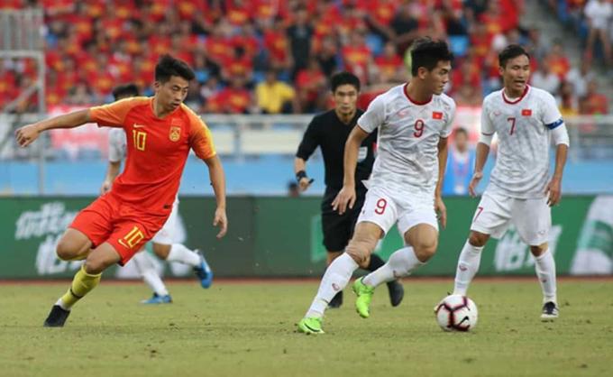 U22 Việt Nam thắng 2-0 khi tới giao hữu với Trung Quốc ngày 8/9/2019.