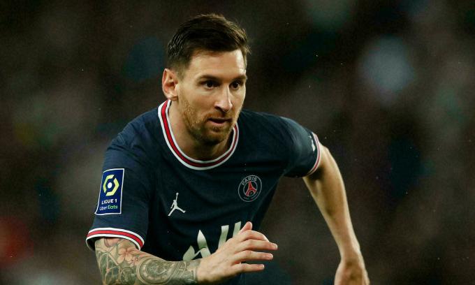 Messi dứt điểm bốn lần, rê bóng ba lần và hai lần tạo cơ hội cho đồng đội trước Lyon. Ảnh: Reuters