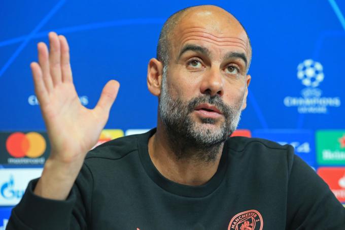 Guardiola chưa vô địch Champions League sau khi rời Barca hè 2012. Ảnh: TalkSport