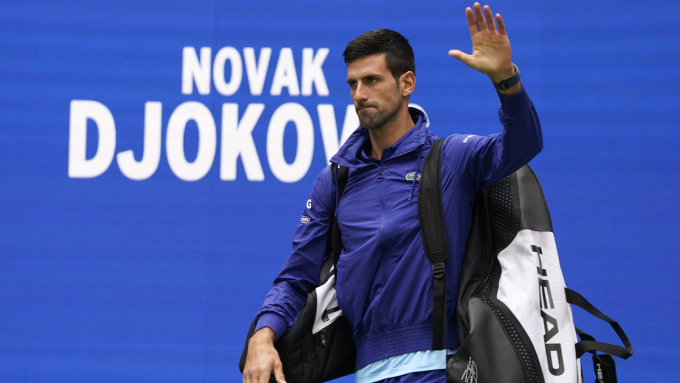 Djokovic đã chơi tám giải ATP trong mùa 2021 và đoạt bốn danh hiệu. Ảnh: ATP