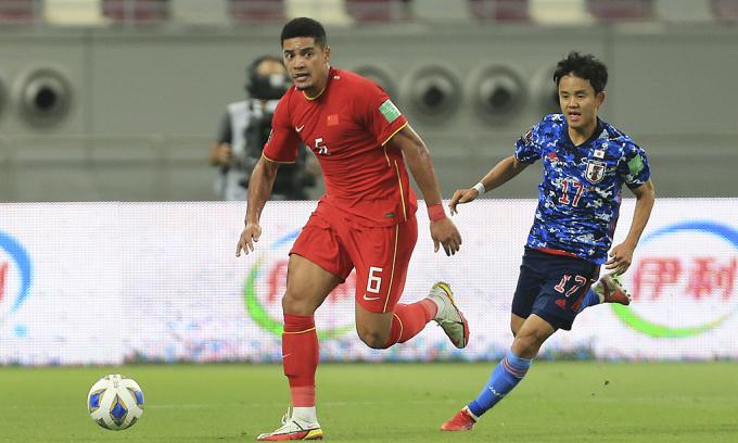 Cầu thủ nhập tịch Trung Quốc: 'Gặp Việt Nam là trận cầu phải thắng'