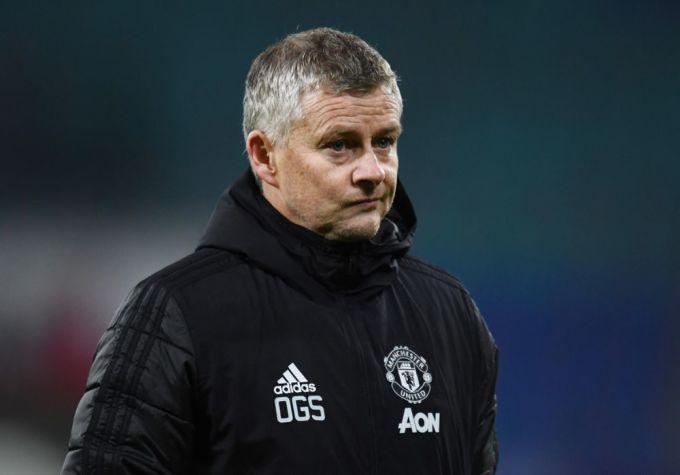 Solskjaer chưa giúp Man Utd đoạt danh hiệu nào sau ba năm dẫn dắt đội. Ảnh: Sky